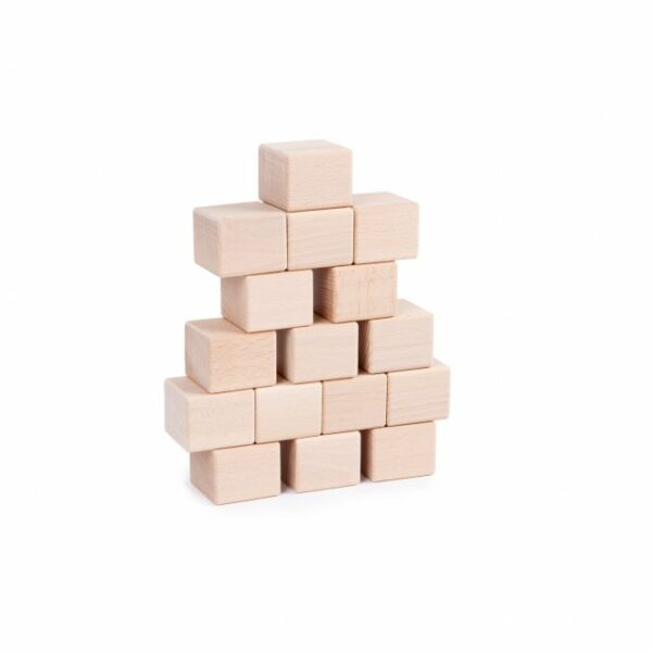 Houten blokken Just Blocks baby pack stapels