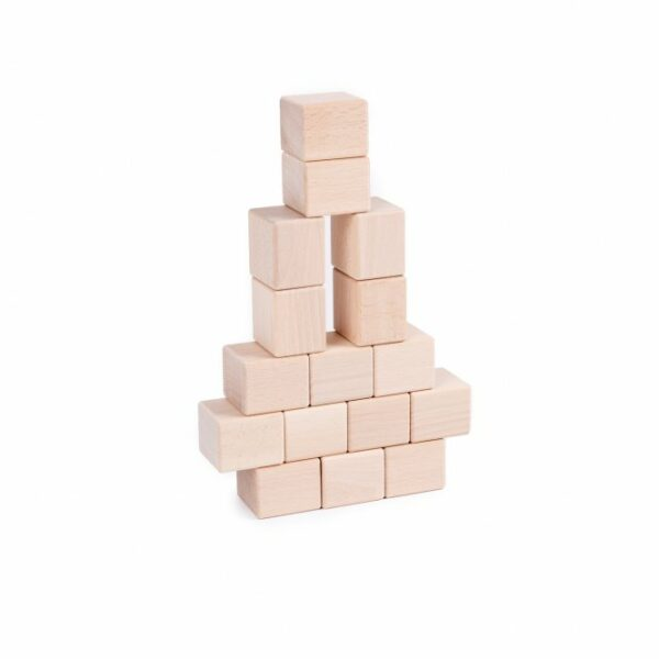 Houten blokken Just Blocks baby pack toren