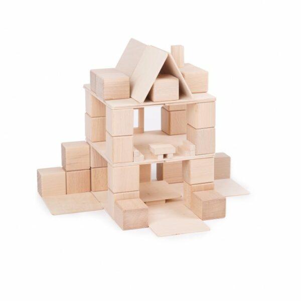 Houten blokken Just Blocks small pack huis