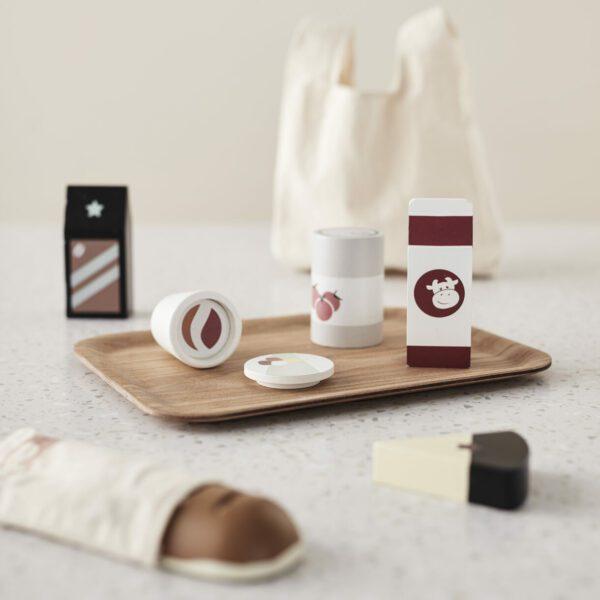 Boodschappen uit tas Kids Concept