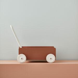 Wandelwagen   loopwagen Kid's Concept abrikoos sfeer