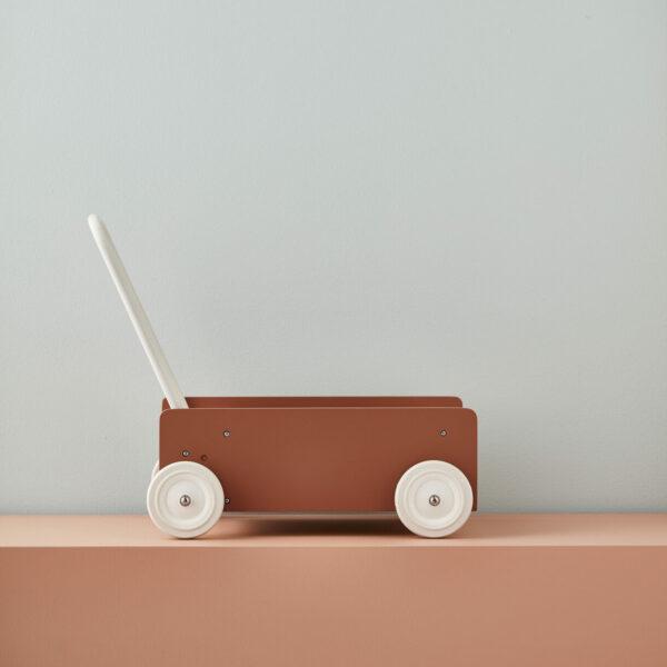 Wandelwagen | loopwagen Kid's Concept abrikoos sfeer