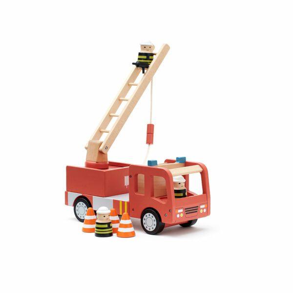 Brandweerwagen Aiden Kid's Concept wit