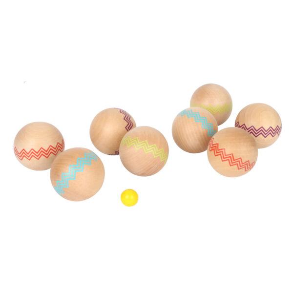 Houten jeu de boules set Small Foot Jindl