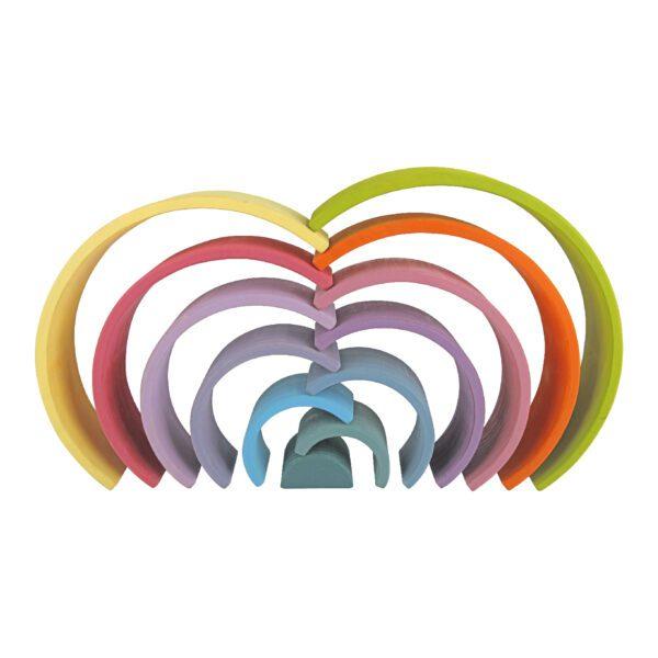 Stapeltoren regenboog Jindl variant