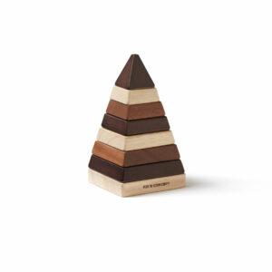 Houten stapelpyramide Neo Kid's Concept gestapeld