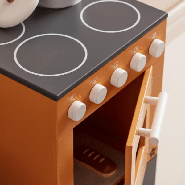 Oven Bistro Kid's Concept okergeel detail pan