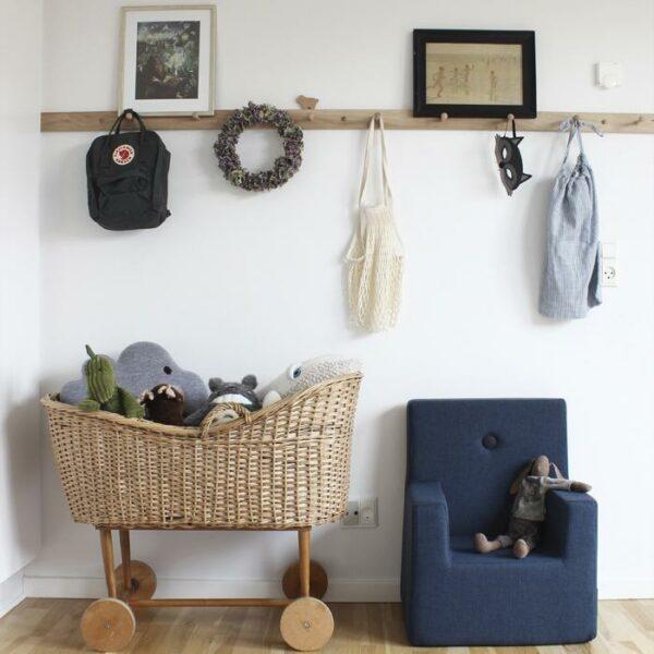 by KlipKlap KK Kids Chair XL blauw-6