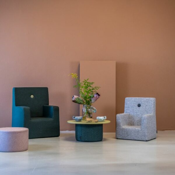 by KlipKlap KK Kids Chair XL, lichtgrijs 2