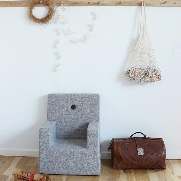 by KlipKlap KK Kids-Chair XL lichtgrijs 7
