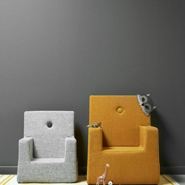 by KlipKlap KK Kids Chair XL, mosterdgeel 3