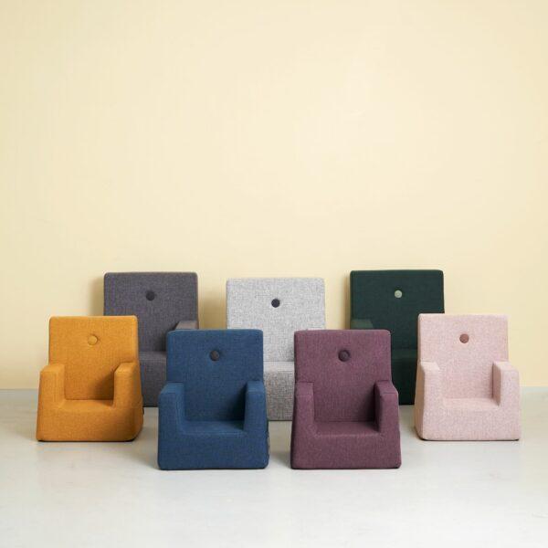 by KlipKlap KK Kids Chair, donkerblauw 4