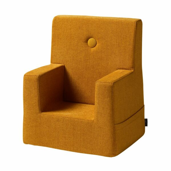 by KlipKlap KK Kids Chair, mosterdgeel 3