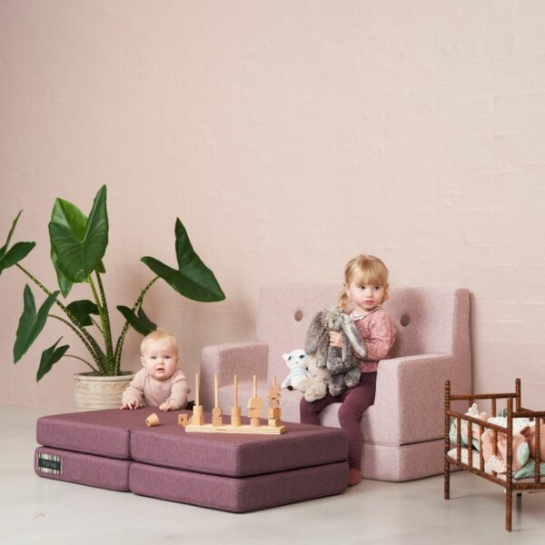 by KlipKlap KK Kids Sofa, roze 2