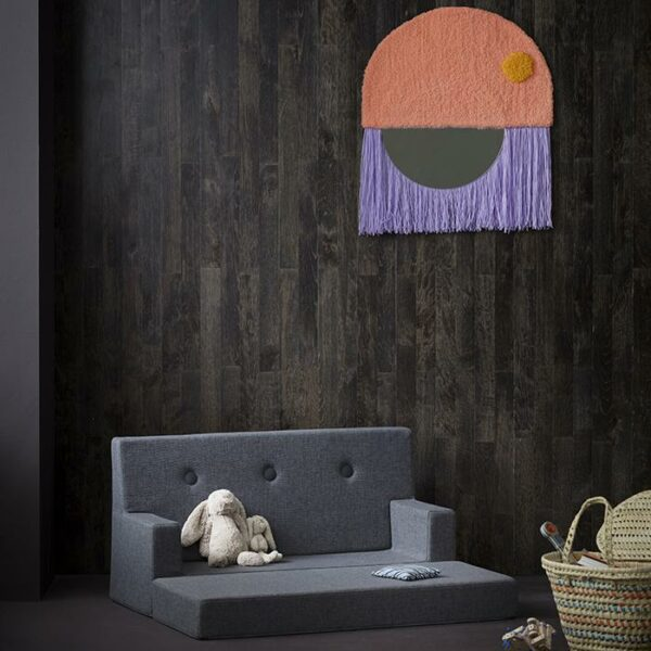 by KlipKlap Kids Sofa grijs ambiance