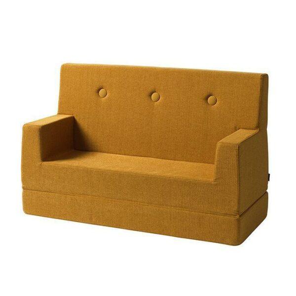 by klipklap kids sofa mosterdgeel