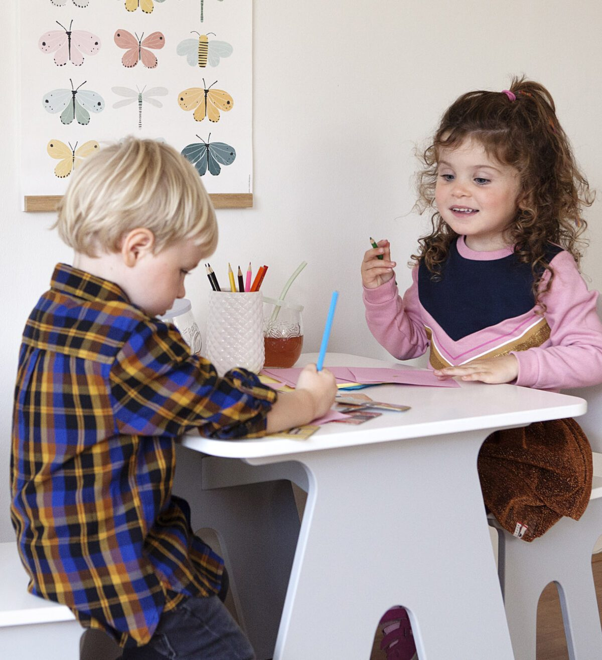 Dipperdee kindertafeltje en kinderstoeltje sfeer