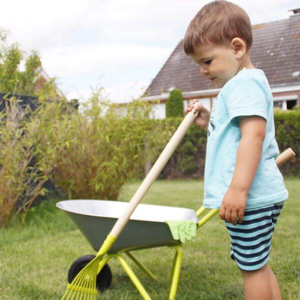 Kinderkruiwagen met tuingereedschap-3