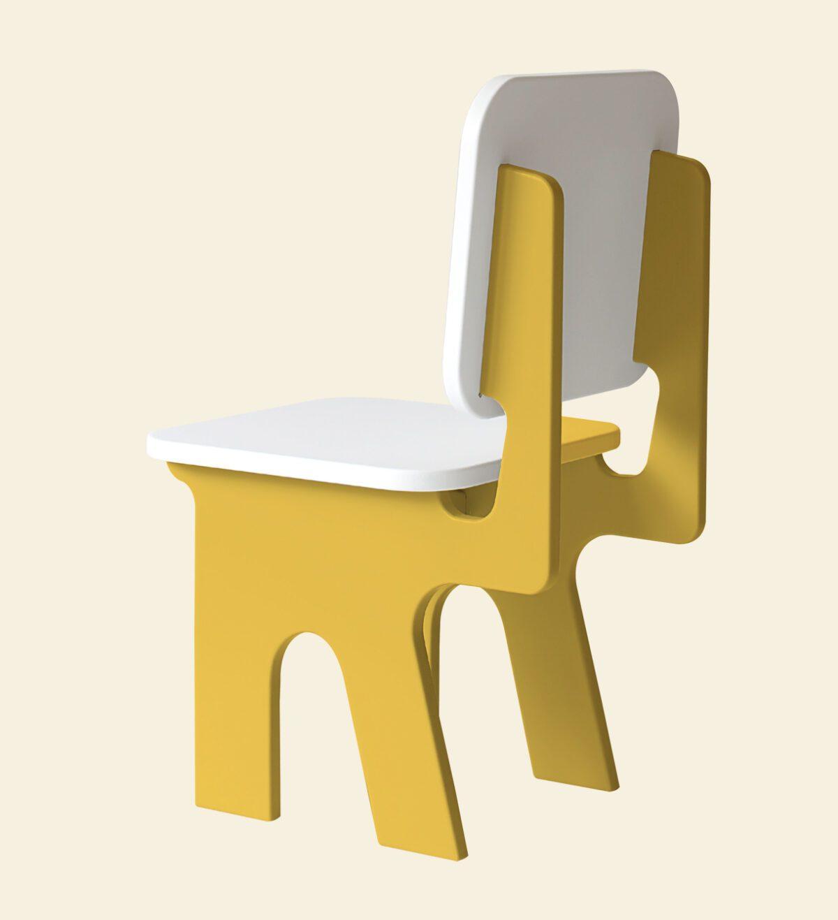 Kinderstoel Dipperdee geel Jindl