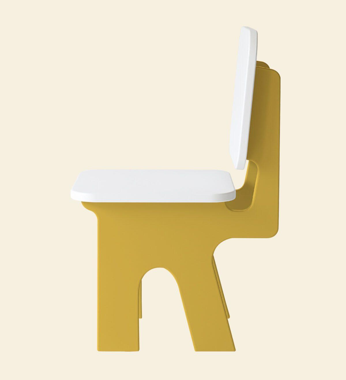 Kinderstoel dipperdee zijkant