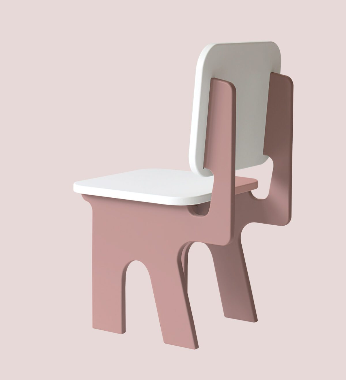 Kinderstoel roze Dipperdee Jindl