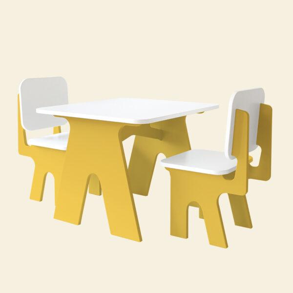 Kinderstoelen met tafel Dipperdee