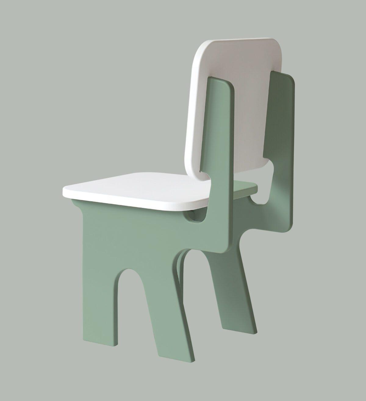 Kinderstoeltje Dipperdee groen zijkant