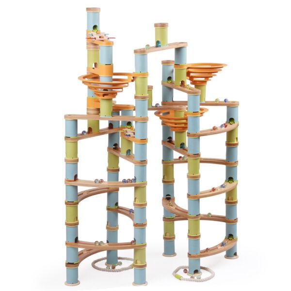 Knikkerbaan-bamboe-mega-pakket-336