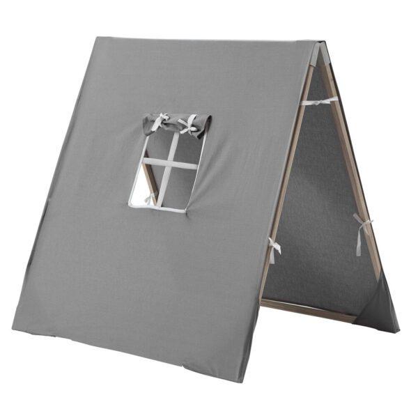 Opvouwbare tent-grijs-Kids-Concept