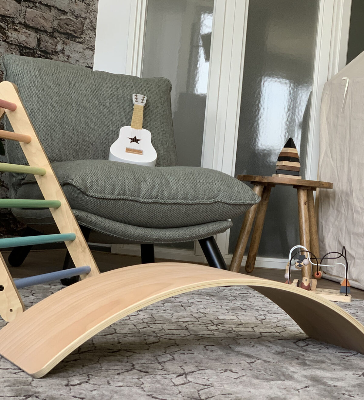 Houten balance board naturel jindl beukenhout