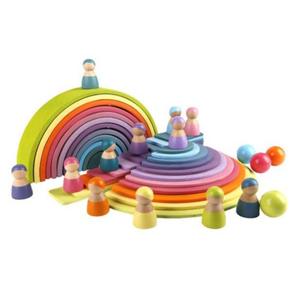 Montessori speelgoed totaal set