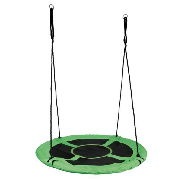 Nestschommel rond XL groen