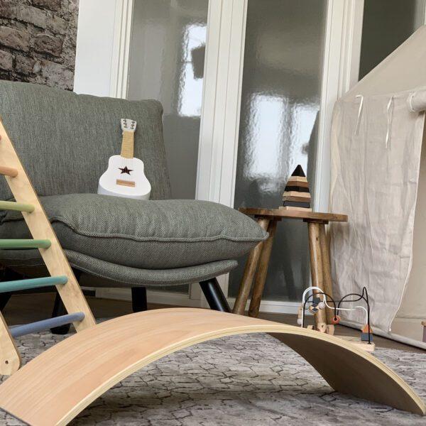 houten balance board naturel jindl