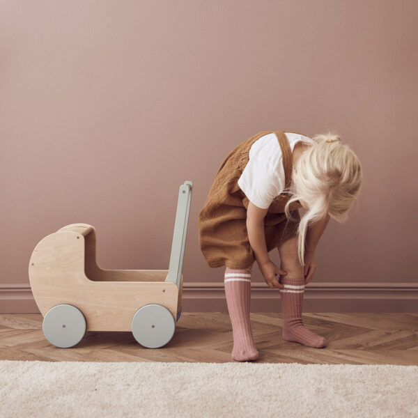 Houten poppenwagen Kids Concept Naturel