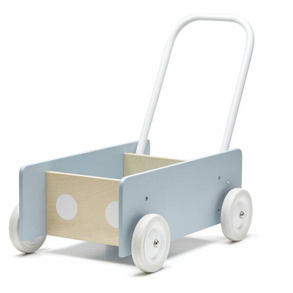 Wandelwagen Kid's Concept grijs:blauw