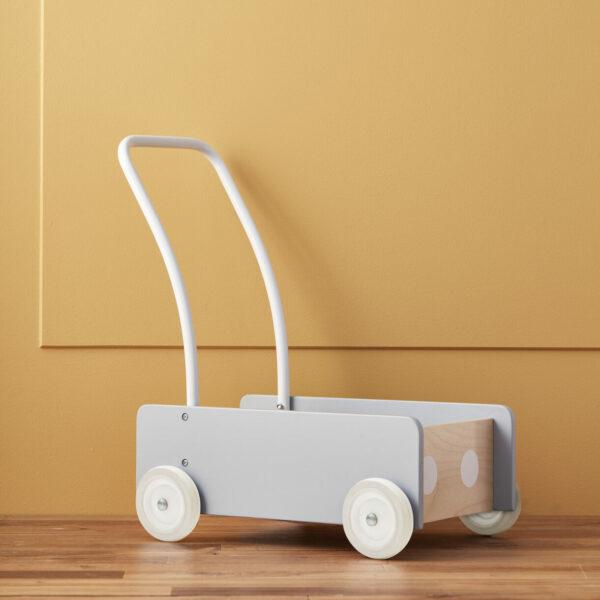 Wandelwagen Kid's Concept grijs:blauw sfeer