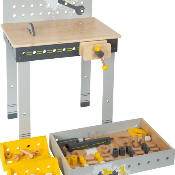 Werkbank miniwob Jindl + gereedschap