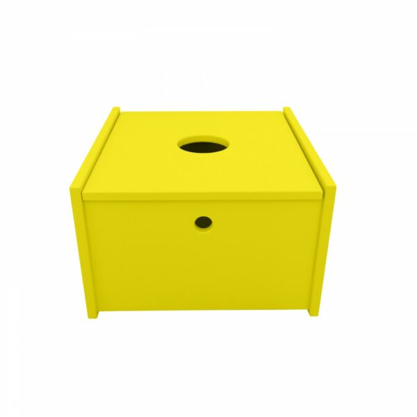 Arthur and friends opbergbox Bobie geel