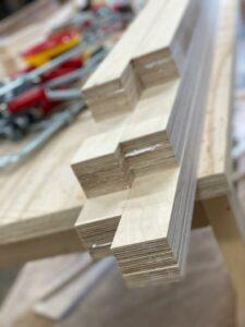 Evenwichtsbalk van hout Jindl productie