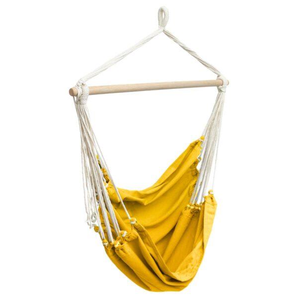 Hangstoel Jindl swing okergeel