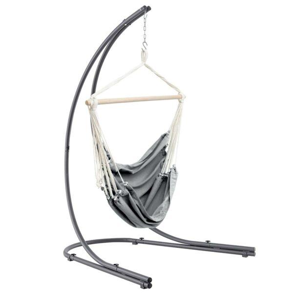 Hangstoel Jindl swing sfeer grijs