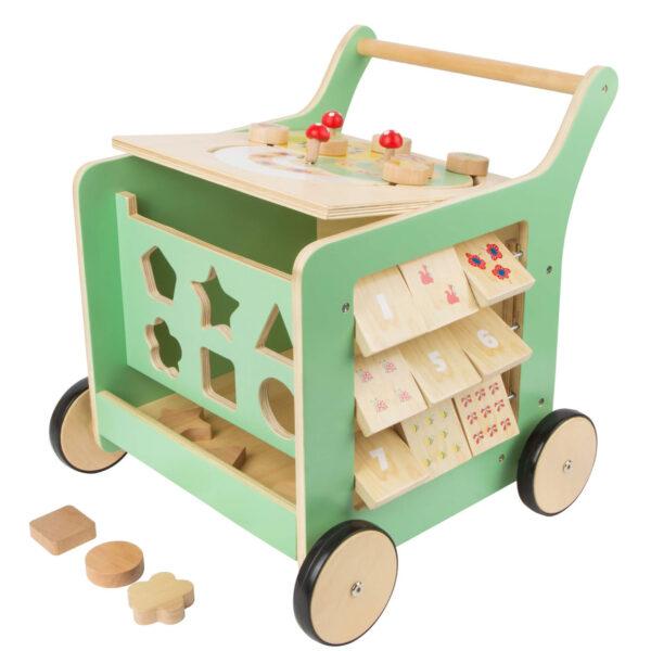 Loopwagen kind met activiteitencentrum