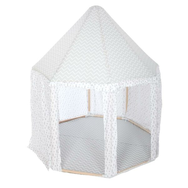 Speeltent   paviljoen Jindl Home grijs/wit