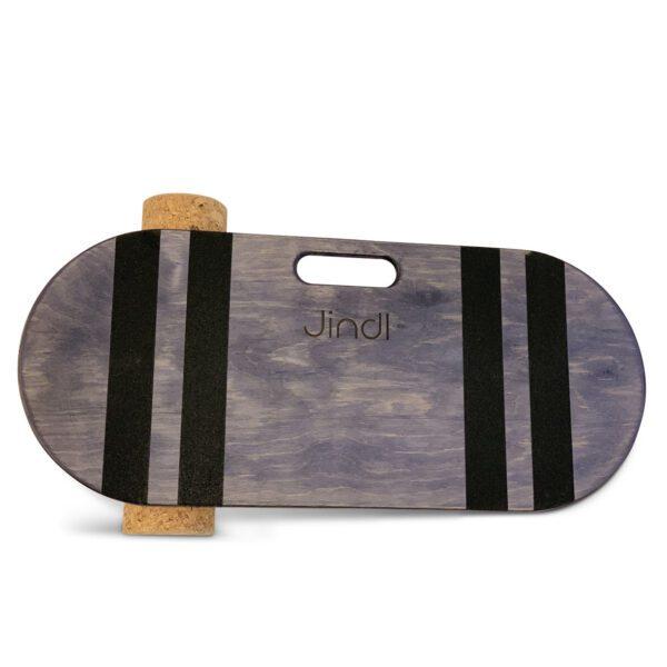 Balanceboard met kurkrol Jindl - blauw grijs