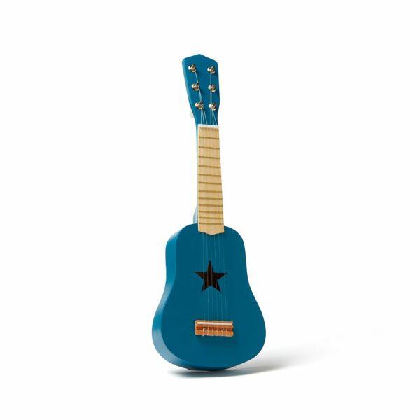 Houten gitaar Kid's Concept blauw