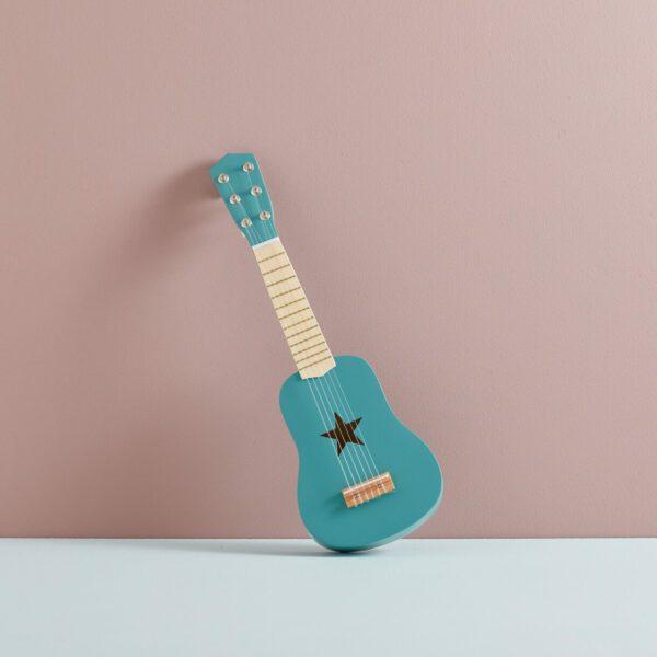 Kid's Concept gitaar groen sfeer