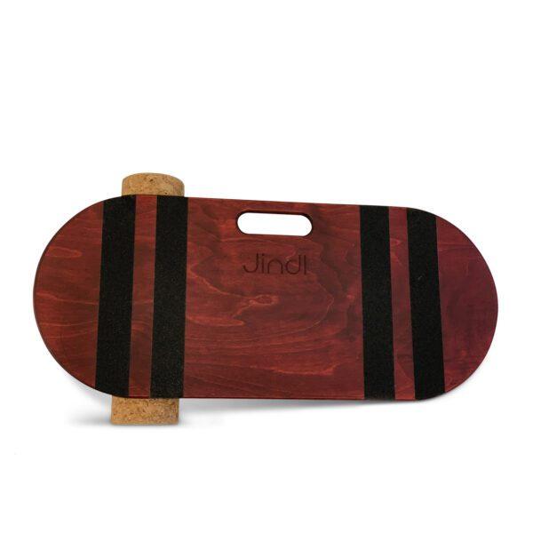 Balance board jindl kurkrol donkerrood