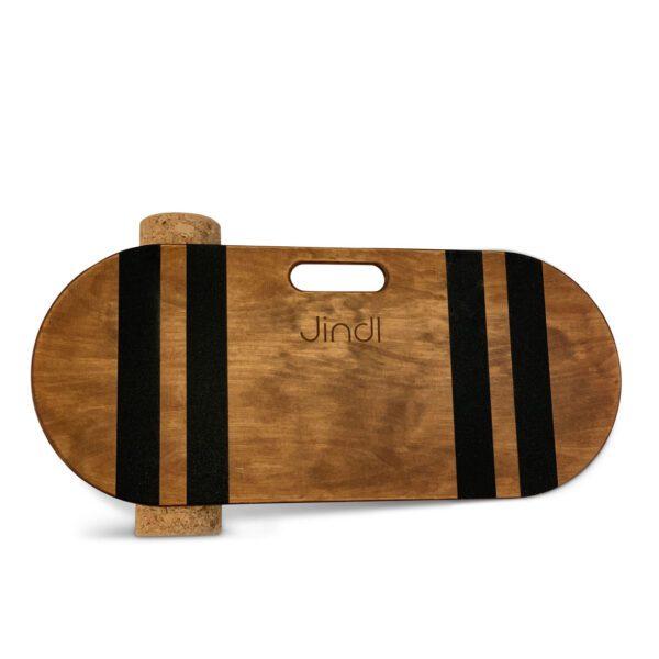 Balance board met kurkrol bruin Jindl