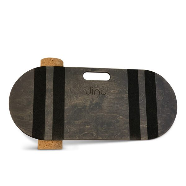 Balance board met kurkrol jindl grijs