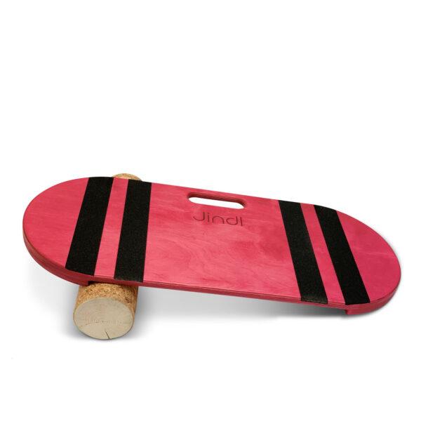 Balance board roze met kurkrol Jindl